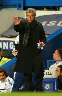 Jose Mourinho - Chelsea v Manchester City - Premier League