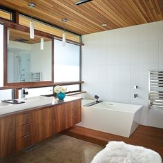 wood floor and cieling
