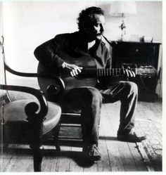 I've always loved Georges Brassens - he's like a French Tom Waits
