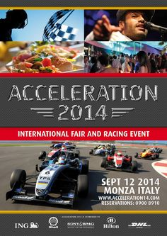 Acceleration 2014 Promotional Poster