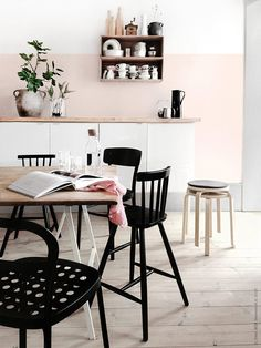Super-pink kitchen! #dream