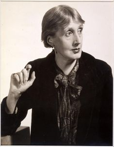 * Virginia Woolf 1934 photo By Man Ray