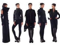 white–forest:  ourwhitehotroom:  What Would the Knights of Ren Wear? We're thinking almost definitely these A/W looks by Gelareh.  Definitely gonna wear that