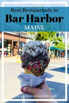 Bar Harbor has a ton of restaurants, making it a perfect vacation for foodies. Check out all the delicious places to eat in Bar Harbor, Maine. Bar Harbor Maine Restaurants, Top Restaurants, Maine Road Trip, Road Trips, Visit Maine, Acadia National Park, National Parks, New England Travel, To Infinity And Beyond