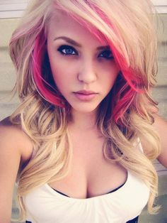 If I went blonde this is what i'd do, for sure.