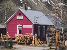 Glacier School, Cement Creek, Gunnison County