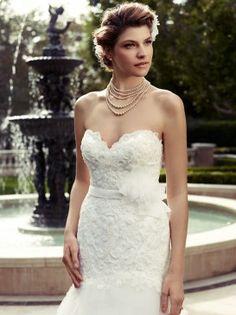 Casablanca Wedding gown available from Bridal Boutique.  bridalboutiquebr.com