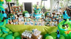 Rio 2 Themed Birthday Party By Cupcakes Moments