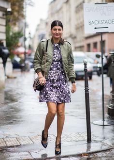 Pin for Later: Le Meilleur du Street Style Vu à la Fashion Week de Paris Paris Fashion Week, Jour 7