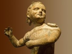 Greek Child 299-1 BCE Terracotta  Portland Museum