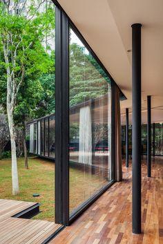 C.J. House,São Paulo, SP, Brasil / Andrade Morettin Arquitetos Associados