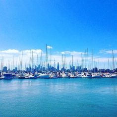 Pristine blue waters yachts and Melbourne (  @chelegil ) . . . . . . #thatsmelbourne #visitmelbourne #runner #running #runhappy #nike #asics #marathon #training #melbourne #geelong #australia #downunder #parkrun #livethelittlethings #nothingisordinary #thehappynow #welltravelled #justbackfrom #followmetoo #whatsinmybag #runpassport #passportexpress #passionpassport #thesweatlife #justdoit #makemoments