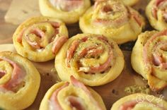 Hot Ham and Cheese Roll- Ups with Dijon Butter Glaze – Low Carb, Gluten Free