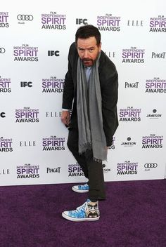 "Bryan Cranston Wore ""Breaking Bad"" Sneakers To The Independent Spirit Awards. He is just so wonderful!"