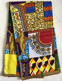 A personal favorite from my Etsy shop https://www.etsy.com/listing/524217330/african-print-fabric-dutch-wax