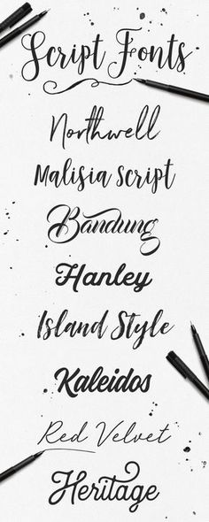 So many great styles to choose from! Check out out Creative Market for 1000 handwritten script fonts. Handwritten Script Font, Calligraphy Fonts, Typography Fonts, Typography Design, Calligraphy Alphabet, Diy Tattoo, Tattoo Fonts, Script Tattoos, Hamsa Tattoo