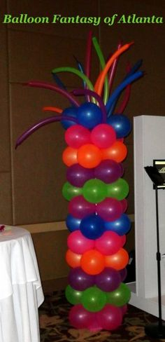 There are so many different types of balloon columns. The possibilities are endless.