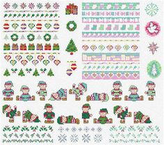 Holiday border - Maria Diaz Designs: