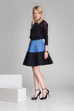 Nowa kolekcja #danhen #jesienzima2014 #fw2014 #fashion #blue #girly #skirt