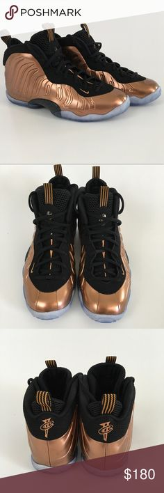 NWOT Nike Little Posite Copper GS 7Y NWOT Nike little posite copper and black size 7Y. Will fit men size 7 and women size 9. No box. Nike Shoes Sneakers