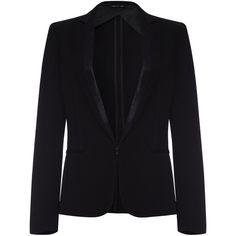RAG & BONE Rag&Bone Lorimer Blazer (27.250 RUB) ❤ liked on Polyvore featuring outerwear, jackets, blazers, blazer, coats, black, long sleeve blazer, tuxedo jackets, tailored jacket and dinner suit