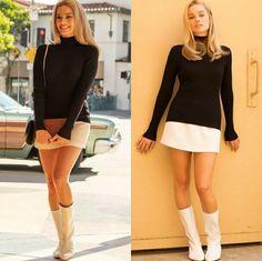Margot Robbie, Mini Skirts, Dresses With Sleeves, Long Sleeve, Sexy, Fashion, Moda, Sleeve Dresses, Long Dress Patterns