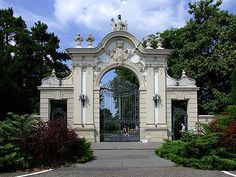 The gate of the Festetics-castle , Keszthely, Hungary Heart Of Europe, Travel Planner, Beautiful Places To Visit, Eastern Europe, Homeland, Budapest, Barcelona Cathedral, Places Ive Been, Facade