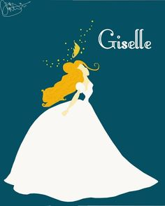 Giselle. A series of prints for my future little girl's bedroom?