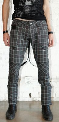LIP SERVICE Plaid Paradox bondage pants #M46-121