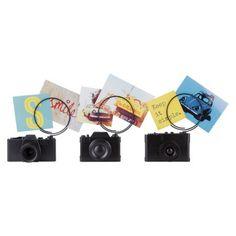 Umbra Loft Tabletop Camera Photo Clip Set of 3