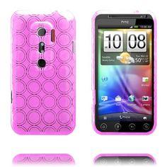 Amazona (Rosa) HTC Evo 3D Deksel