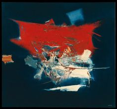 Melancholy Metropolis, Manabu Mabe  oil on canvas - Collection Walker Art Center