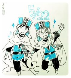Autor: Akizuki Sorata- Anime/Manga: Akagami no Shirayukihime/Snow white with the red hair.- Mmmm me olvide del nombre de estos dos guardias Q.Q bueno se les presento a dos de los primeros fans del Zenyuki!