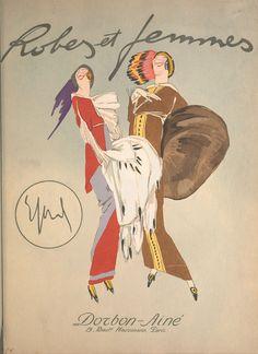 New item in my etsy shopFashion magazine cover Robes et Femmes 1913 reproduction… Paul Poiret, Art Deco Stil, Fashion Books, 30s Fashion, Edwardian Fashion, Fashion Magazines, Vintage Magazines, Vintage Ads, Vintage Fashion