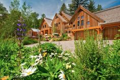 lede (4) wood clad house This is how the world's richest woman lives: Christy Walton's Wyoming estate is for sale