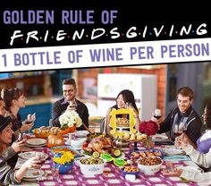 """And never forget:   A """"Friends""""-Themed Friendsgiving Even Chandler Would Love"""