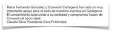 Publicidad Silva, otro cliente de Conexión Cartagena