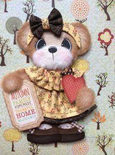 Autumn-BOUTIQUE-Girl-Tear-Bear-Premade-Scrapbook-ELITE4U-3paperwishes
