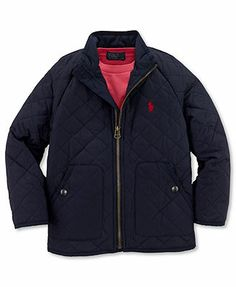Ralph Lauren Kids Jacket, Little Boys Fisher Jacket