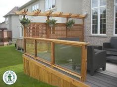 Want to do this on my deck for some privacy maybe i for Hanging privacy screens for decks