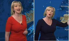 Carol Kirkwood wows again in navy blue version of favourite figure-hugging frock Steph Mcgovern, Carol Kirkwood, Female News Anchors, Carol Vorderman, Todays Weather, London Today, Tv Presenters, Children In Need, Frocks
