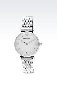 Emporio Armani Women Watch - Retro Collection Analogical Watch Emporio Armani Official Online Store