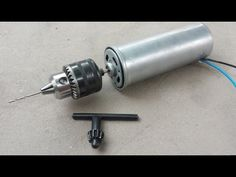 How to Make a High Speed Mini Drill - YouTube