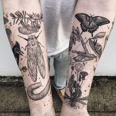 Les Tatouages cosmiques de Faune et de Flore de Pony Reinhardt (1)