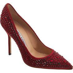Manolo Blahnik Crystal BB Zapatos España