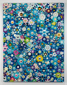 Cave to Canvas, Takashi Murakami, An Homage to IKB, 1957 D 2012