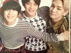 Tae, minho and key