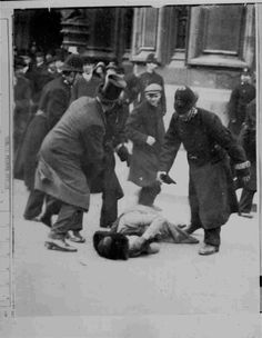Black Friday: This was the first time that Suffragette protests were met with violent physical abuse, however it was generally supported by the British population, who at the time were relatively opposed to women's franchise. Two women died as a result of police violence, and around two hundred women were arrested. 1910