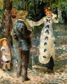 Pierre-Auguste Renoir - The Swing