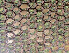 #Abstract #Art #Artwork #Painting #Honey #Honeycomb #Beehive #ContemporaryArt #ModernArt #Geometry